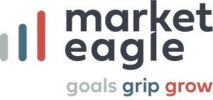 logo marketeagle goals grip grow